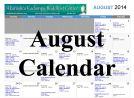 AKBC August 2014 Calendar - icon 134x98