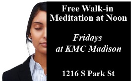 Free Friday Noon Meditation