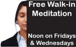 Free Lunchtime Meditation at Noon 250x157