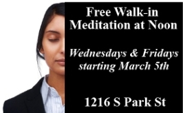 Walk-in Lunchtime Meditation 266x164